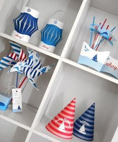 Piece of Cake: Paper & Cake: Sail Away Party collection