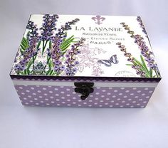 Krabica Lavanda
