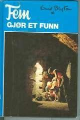 """""""Fem gjør et funn"""" av Enid Blyton - read all by Enid Blyton several times over Enid Blyton, Childhood Memories, Teen, Reading, Books, Livros, Book, The Reader, Libri"""