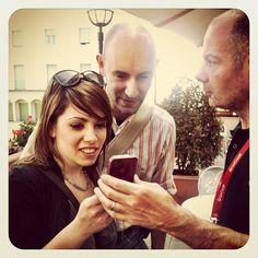 Cose da #igers nel post workshop dedicato ad #instagram e giornalismo all'#ijf12 con @giariv e @lafatinarossa