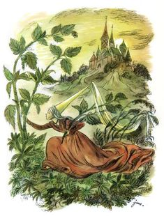 Items similar to Vintage children's Book Illustration The Wild Swans and Emperor's New Clothes Page Print Paper Ephemera Fairy Tales storybook Victorian on Etsy Fairy Tale Story Book, Fairy Tales, Bullet Journal Books, Vintage Fairies, Fairytale Art, Children's Book Illustration, Book Illustrations, Vintage Children's Books, Conte