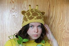 Ravelry: Giraffe Hat pattern by Audry Nicklin