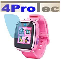 2 Stück HARTBESCHICHTETE KRISTALLKLARE Displayschutzfolie für Vtech Kidizoom Smart Watch 2 Bildschirmschutzfolie - http://uhr.haus/4protec/vtech-kidizoom-smart-watch-2-2-stueck-geh-rtete-650