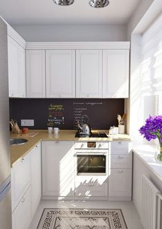 Small Kitchen Ideas On a Budget to Maximize Existing the Space. clever small kitchen storage ideas - space saving small kitchen organization ideas tips and tricks on a budget to declutter small kitchens in tiny apartments Small Kitchen Organization, Small Kitchen Storage, Small Space Kitchen, Organization Ideas, Storage Ideas, Small Kitchen Lighting, New Kitchen, Kitchen Decor, Mini Kitchen
