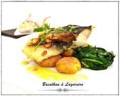 O bacalhau é talvez o peixe mais versátil, podendo ser cozinhado de variadíssimas formas. Gosto de praticamente todos os pratos de bacalhau...