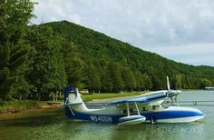 Photo of Grumman Widgeon - FlightAware Michigan, Glen Lake, Amphibious Aircraft, Propeller Plane, Bush Plane, Flying Together, Float Plane, Private Pilot, Flying Boat