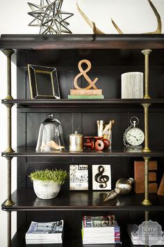 Mix French and industrial by restoring old finds and giving them a fresh twist.
