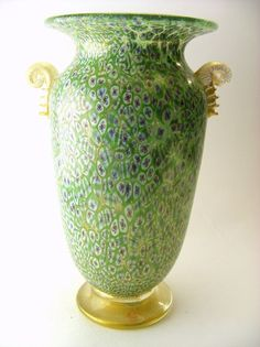 Glas Pokal Murano, italy, signiert Gino Cenedese limited edition ...