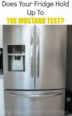 Is Your Kitchen Smudge Proof? Try The Mustard Test To Find Out! #testdrivemoms
