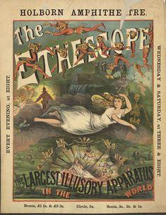 Holborn Amphitheatre, Holborn. The Ethescope, c. 1880.