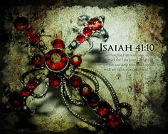 """Isaiah """"So do not fear, for I am with you; do not be dismayed, for I am your God. I will strengthen you and help you; I will uphold you with my righteous right hand. Healing Scriptures, Scripture Verses, Bible Scriptures, Bible Quotes, Isaiah 55 11, Bible Resources, God Help Me, The Cross Of Christ, Godly Man"""