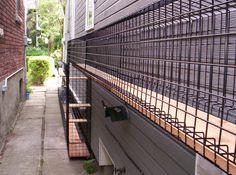 Outdoor Cats, Outdoor Decor, Outdoor Cat Enclosure, Under Decks, Deck Stairs, Cat Tunnel, Catio, Over The Years, Habitats