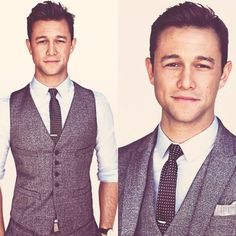 Joseph Gordon-Levitt I love this look                                                                                                                                                                                 Más