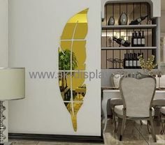 Acrylic Wall Mirror factory custom design acrylic ikea acrylic wall sticker mirror