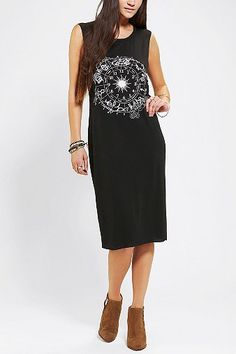 Out From Under Zodiac Muscle Midi Dress