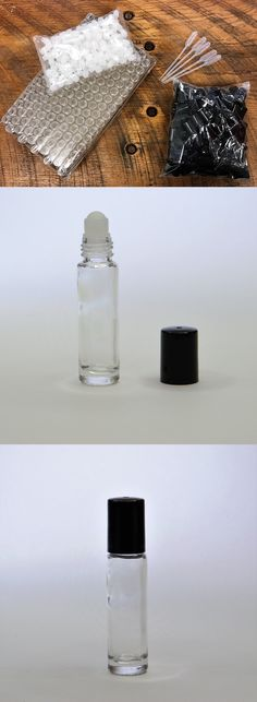 wholesale Other Whlsl Health and Beauty: 1 3 Oz. Roll On Bottles Roller Clear Glass Empty Refillable 1 Gross 144 10 Ml. -> BUY IT NOW ONLY: $33.49 on eBay!