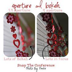 Aperture and bokeh tips