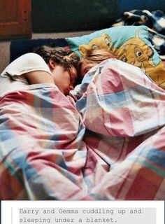 Cutest Brother Sister Relationship Award goes to.....HARRY AND GEMMA STYLES>>>>>Awwwww they have a lion king pillow!