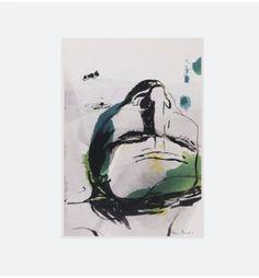 Rå og enkle streger. Bath af Maria Molbech. Køb den på http://finderskeepers.dk/artworks/bath.html
