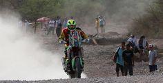 Juan Carlos Salvatierra cumple una buena labor en el rally. Su objetivo es terminar entre los diez primeros pilotos de la competición