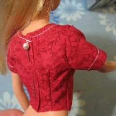 How to Sew the Barbie dress, also has the links to the dress patterns that are shown in tutorial.