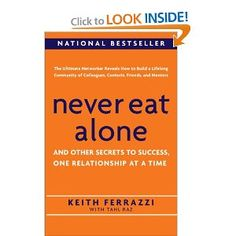to read: never eat alone