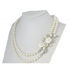 Colier Brilliant Pearl Pearl Necklace, Pearls, Jewelry, Culture, String Of Pearls, Jewlery, Beaded Necklace, Bijoux, Beads