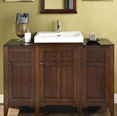 Inch Bathroom Vanity Made From Solid Wood Stylish Sink Sits On - 45 inch bathroom vanity for bathroom decor ideas