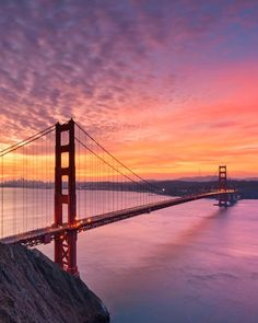 Golden Gate Bridge by josephsfphotos San Francisco Alcatraz, San Francisco Sites, Living In San Francisco, San Francisco Travel, Bay Area Bridges, Puente Golden Gate, Gate Pictures, Take The High Road, California Surf