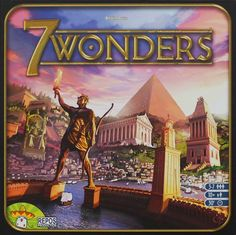7 Wonders. Definitely one of the best board games ever made this decade. This will go down as a classic.