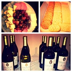 Nibble on cheese and crackers and sip on your favorite wine at our complimentary Evening Wine & Cheese Reception!