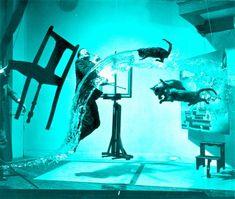 Dali pop art poster photo print Phillipe Halsman Atomicus Salvador Dali print surreal surrealist surrealism cool modern wall decor art print Pop Art Posters, Salvador Dali, Vintage Photographs, Modern Wall, Surrealism, Original Art, Wall Decor, Art Prints, Cool Stuff