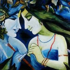 Radha Krishna by Minakshi Goyal Krishna Painting, Krishna Art, Indian Artist, Top Artists, Online Painting, Love Painting, Disney Characters, Fictional Characters, Paintings