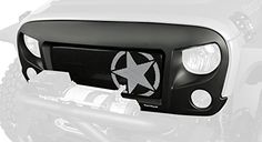 Rugged Ridge 12034.31 Spartan Grille Kit for Jeep Wrangler JK (Star)