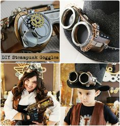 DIY Steampunk Goggles by Michelle's Party Plan-It