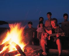 Want to hear waves crashing in the background of your crackling fire? - Stay with us at Lutsen Resort! Lutsen Resort, Minnesota, Waves, Fire, Activities, Ocean Waves, Beach Waves, Wave