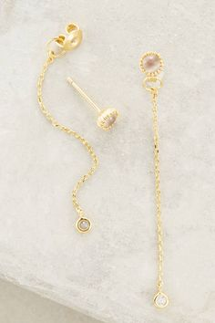 at anthropologie Threaded Theatro Earrings