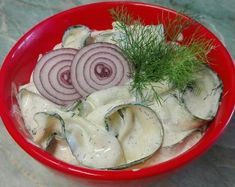 Kapros, tejfölös, cukkini saláta ✔ Vegetarian Recipes, Healthy Recipes, Healthy Food, Hungarian Recipes, Hungarian Food, Cabbage, Vegetables, Ethnic Recipes, Vegan Food