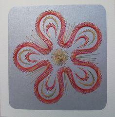 Fadengrafik+Karte+Geburtstag+Blumen+23+Fantasy+von+Rene´s+Fadengrafiken+auf+DaWanda.com