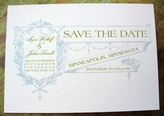 Save the Date Vintage Banner