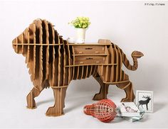 lion with drawers2