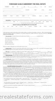 Printable Sample Sales Contract For Buying Subject To Form  Legal