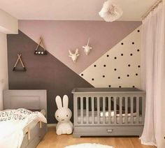50 kreative Babyzimmer: Heimwerken - Gesunder Lebensstil - FeltTails Baby Nursery Decor and Craft Tutorials - Pin Baby Room Boy, Baby Room Decor, Nursery Decor, Bedroom Decor, Baby Room Ideas For Girls, Unisex Baby Room, Baby Room Colors, Bedroom Colors, Unisex Bedroom Kids