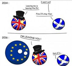 Brexit - Never forget! (so nice so true) Hetalia, Schmidt, Best Comments, History Memes, Funny Comics, Make You Smile, Comic Strips, Best Funny Pictures, Scotland