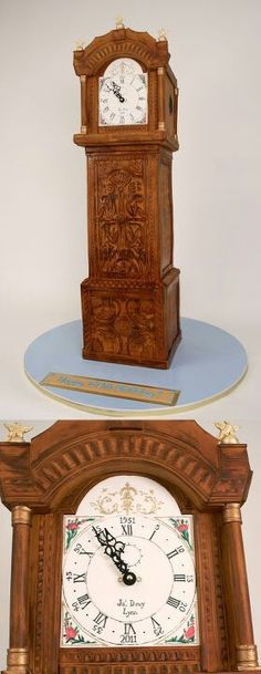 Charm city cakes grandfather clock - WOW!!!