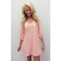 Another Unbelievably Beautiful Tunic-Peach - $46.00