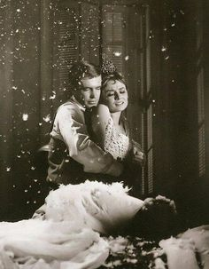Audrey Hepburn and George Peppard - Breakfast at Tiffany's