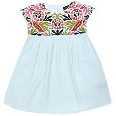 Antik Batik Multicolored Embroidered Dress #ladida #ladidakids ladida.com