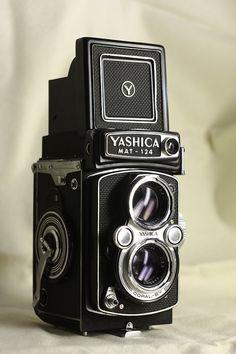 Yashica mat 124 #vintage #camera