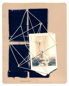"Saatchi Art Artist jerry seguin; Collage, ""end of yarn"" #art"